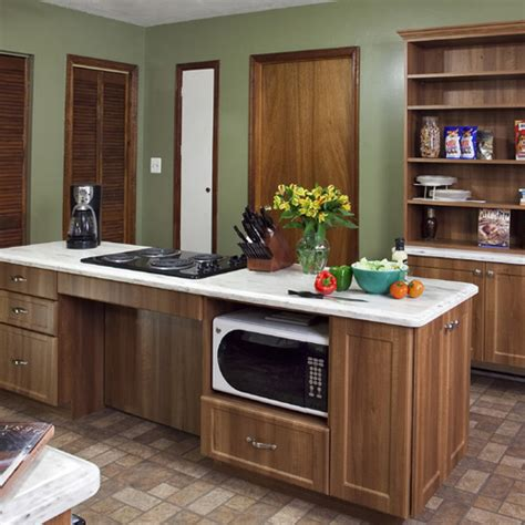 handicap accessible kitchen cabinets accessible kitchens for mobility challenges 4129