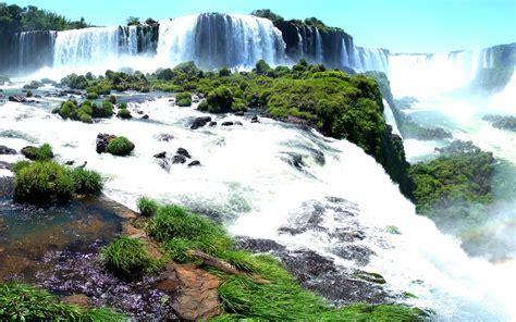 Iguazu Falls Hd Wallpaper Background Image 2560x1600 Id362166 Wallpaper Abyss