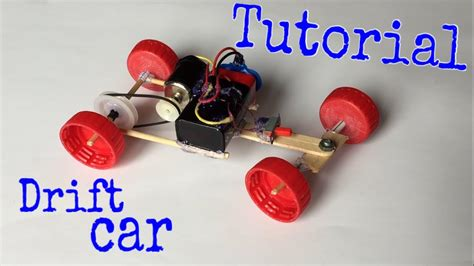 How To Make Electric Car by How To Make A Drift Car Electric Powered Car Tutorial