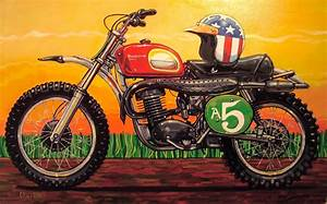 Racing Caf U00e8  Motorcycle Art