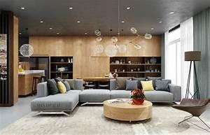 association des couleurs le bois et le gris se marient With tapis de sol avec rénover un canapé en cuir griffé
