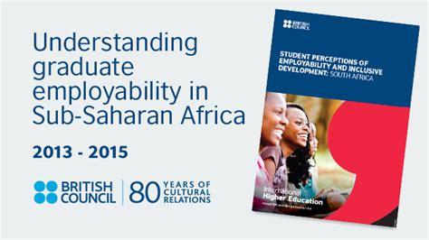 report graduate employability   saharan africa