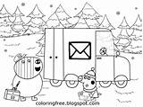 Coloring Pages Office Printable Drawing Pig Peppa Christmas Easy Winter Pigs Emily Zebra Mummy Getcolorings Letter Mr Xmas Elephant Card sketch template