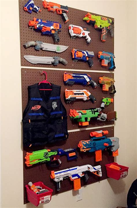 Build this easy, beginner build nerf gun peg board holder to. ボード「ヒント」のピン
