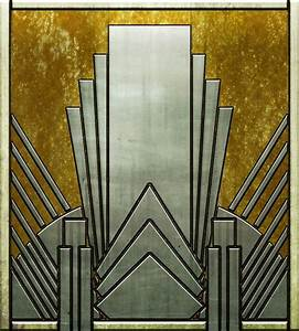 Motif Art Deco : another custom shape in a deco style yeah it 39 s my daily ~ Melissatoandfro.com Idées de Décoration