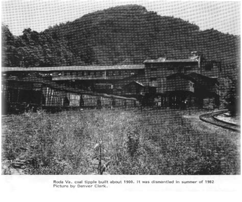 roda coal camp appalachia places   appalachian