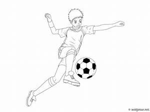 Petit But De Foot : le petit footballeur coloriage sports gratuit sur webjunior ~ Melissatoandfro.com Idées de Décoration