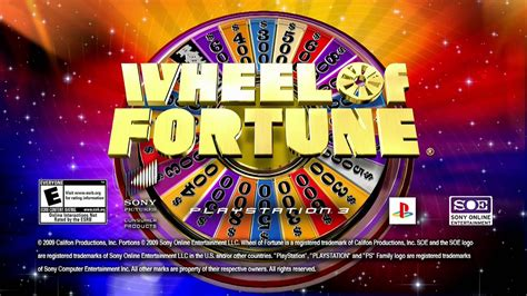 fortune wheel game hd playstation network trailer