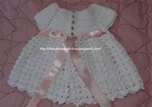 grille crochet robe bebe 6 grille crochet robe bebe6 With robe crochet bébé