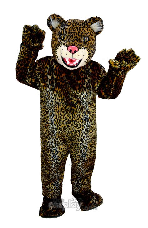 Spotted Jaguar Mascot Costumein Clothing From Novelty