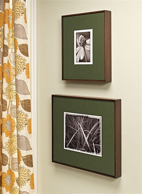 box joint picture frames
