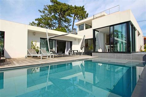 anglet chiberta a vendre maison contemporaine avec piscine ventes immobili 232 res de