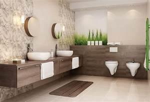 salle de bain beige idees de carrelage meubles et deco With carrelage salle de bain ancien