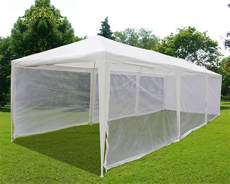 Quictent® 10x30 Party Wedding Tent Canopy Gazebo Screen House With Mesh Sidewall 6955185722916 Wedding Events Townsville Los Angeles Planning Guide Template Book Cake Evergreen & Minneapolis For Out Of Town Guests
