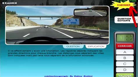 test du code de la route 2017 comment bien r 233 viser l examen du code de la route