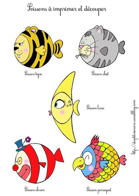 poisson d avril bureau poisson d 39 avril à imprimer diy atelier