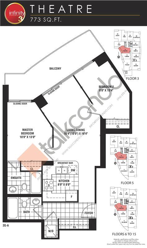 infinity 3 condos floor plans prices availability talkcondo