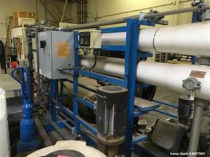 Used- US Filter Modified Vantage Reverse Osmosis