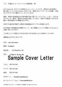 top music japan sell and promote your music in japan With cover letter in japanese
