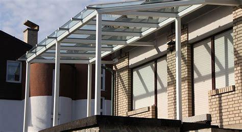 costruire una tettoia in ferro costruire tettoie verande pensiline pergolati e tende