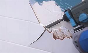 Comment Recouvrir Du Carrelage Mural : comment enlever du carrelage mural castorama ~ Melissatoandfro.com Idées de Décoration