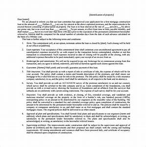 Second Mortgage Template 7 Mortgage Commitment Letter Templates To Download