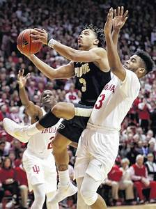 No. 3 Purdue holds off Indiana for record 17th straight ...