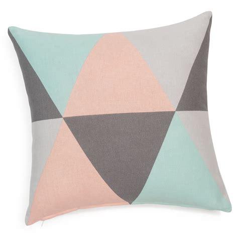 housse coussin canapé 60x60 lively cotton cushion cover 40 x 40cm maisons du monde