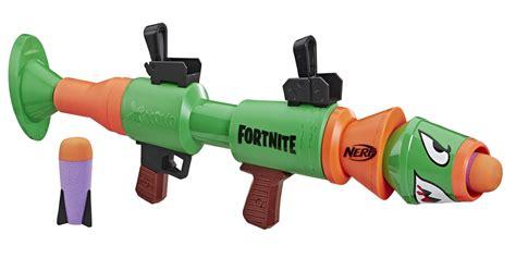 latest fortnite nerf guns include  rocket launcher