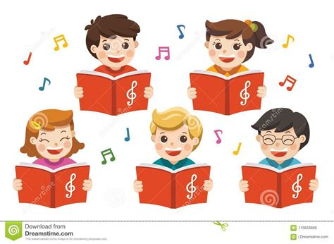 Song Cartoons Illustrations Vector Stock Images 42418