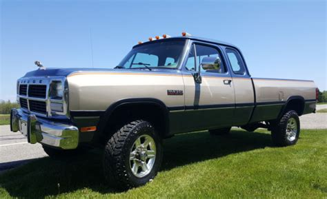 Dodge Cummins For Sale In Ky by 1991 Dodge W250 Le Extended Cab Cummins 4x4 From Kentucky