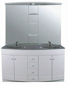 Meuble Salle De Bain 140 Cm Double Vasque : meuble double vasque 140 maison design ~ Dailycaller-alerts.com Idées de Décoration