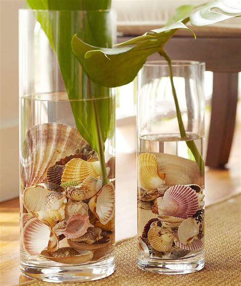decorating seashells stylish ways to decorate your home with seashells