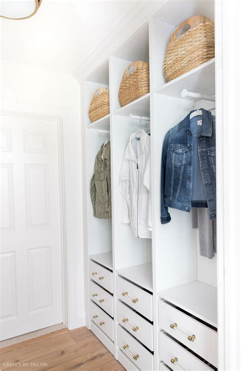 Slim Wardrobe Closet by Our New Coat Closet Using Ikea Pax Wardrobes Driven By