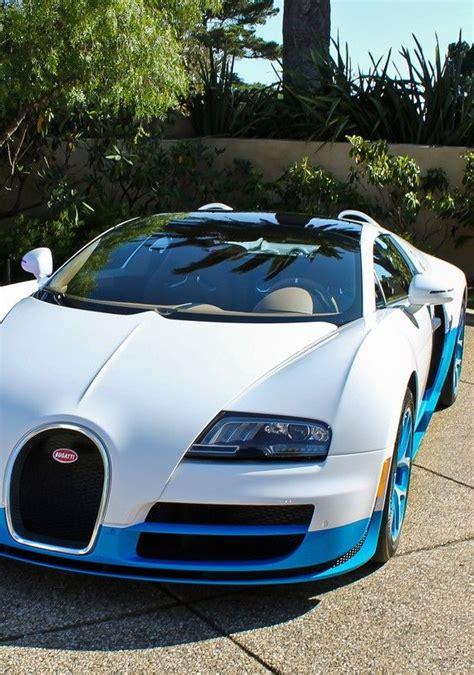 Bugatti chiron white & blue. Blue & white car Bugatti Veyron - Love Cars & Motorcycles