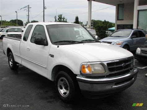ford truck white 1997 oxford white ford f150 xlt extended cab 39740889