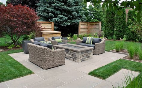 landscape ontario fireplace earthscape residential