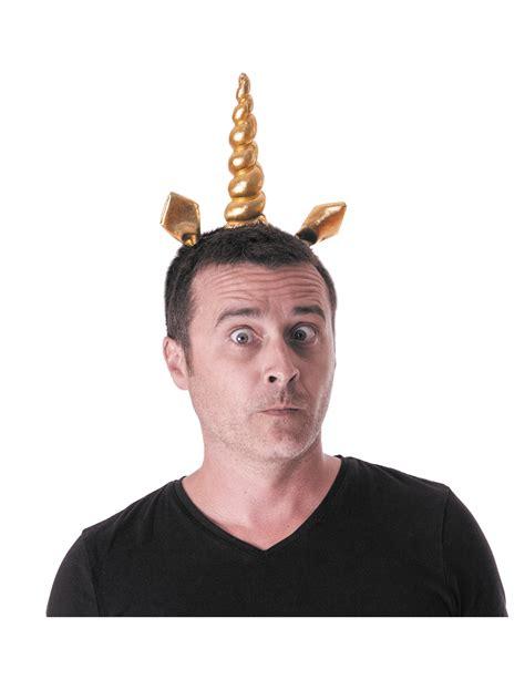 einhorn schminken erwachsene stirnband goldenes einhorn erwachsene accessoires und g 252 nstige faschingskost 252 me vegaoo