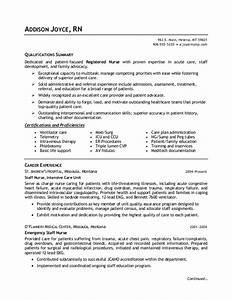 nurse resume nurse resume example resume pinterest With how to write a professional nursing resume