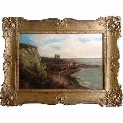 Smith Oil Painting Canvas Artist 1856 Signed
