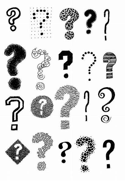 Question Mark Marks Questions Doodle Tattoo Interrogation