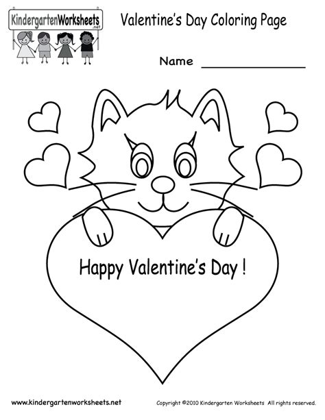 s day coloring pages free kindergarten 461 | valentines day coloring pages printable