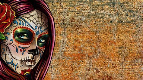 Space Wallpapers Hd 1080p Hd Sugar Skull Wallpaper Wallpapersafari