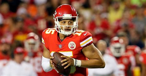patrick mahomes    st start  chiefs  week