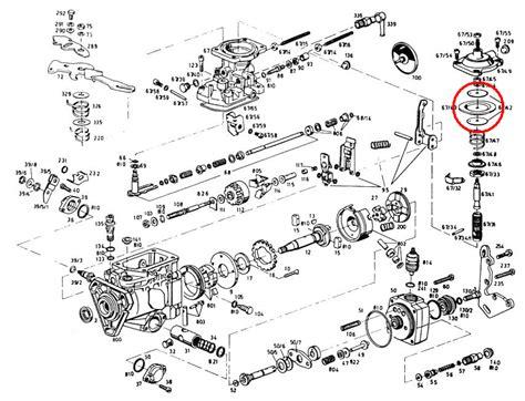 bosch ve fuel injection pump manifold boost diaphragm