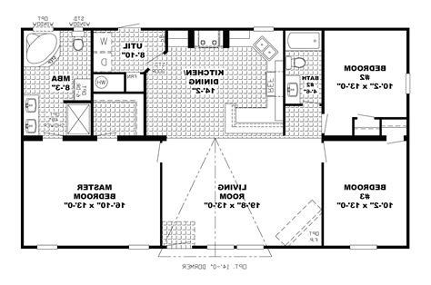 small bedroom floor plans simple colonial house plans small open floor plan designs