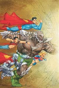 Image - Doomsday vs Superman Family.jpg | Superman Wiki ...