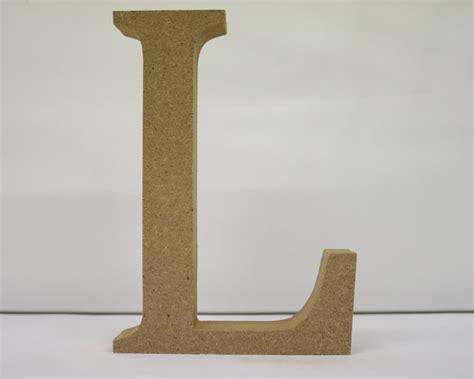 wooden letter l needlecraft