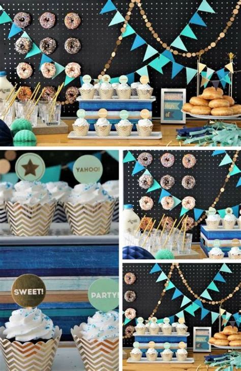 donut party inspirations birthday party ideas themes