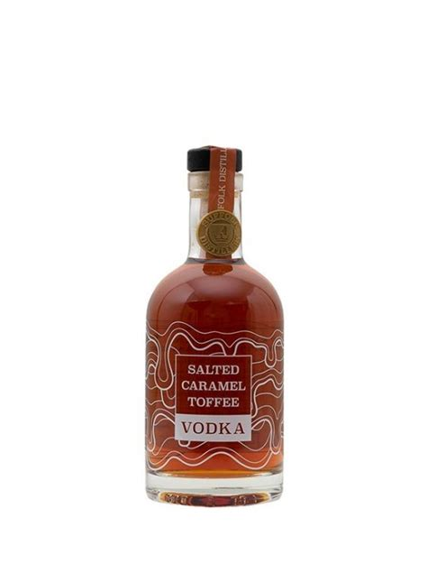 It's like tasting childhood and unlike most caramel recipes, this salted caramel doesn't require a candy thermometer. Salted Caramel Toffee Vodka - Buy Online at Suffolk Distillery, Gin & Vodka
